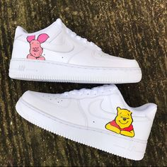 Behind The Scenes By aitchcustoms Custom Sneakers, Sneakers Mode, Custom Shoes, Sneakers Fashion, Fashion Shoes, Custom Af1, Tenis Vans, Nike Shoes Air Force, Cute Nikes