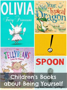 Literacy: Children's Books about Being Unique, Different & Yourself Preschool Books, Book Activities, Sequencing Activities, Books To Read, My Books, Material Didático, Kids Reading, Reading Lists, Children's Literature