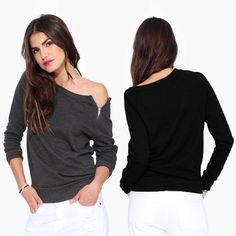 #Sexy strapless #tops collocate a casual pants or jeans is the #MostTide of this season. Do you like it?