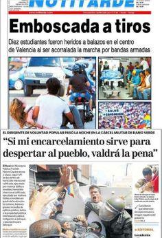 Titulares en Venezuela
