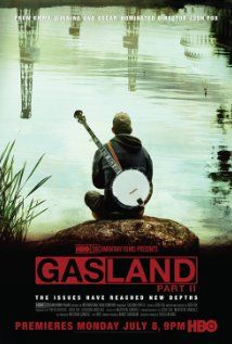 Gasland Part II: A documentary that declares the gas industry's portrayal of natural gas as a clean and safe alternative to oil is a myth, and that fracked wells inevitably leak over time, contaminating water and air, hurting families, and endangering the earth's climate with the potent greenhouse gas methane.