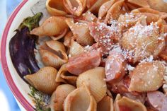 Sausage and Shells...the perfect family supper