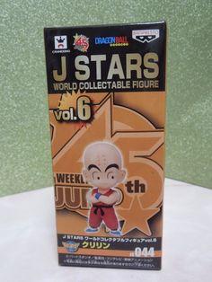 New Dragon Ball J STARZ DWC World Collectable 044 Krillin Figure Rare