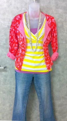 Layer your outfit for unpredictable weather and temperature changes!