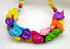 Children rose necklace and bracelet, Kid jewelry set, childre cute gift-in Jewelry Sets from Jewelry on Aliexpress.com