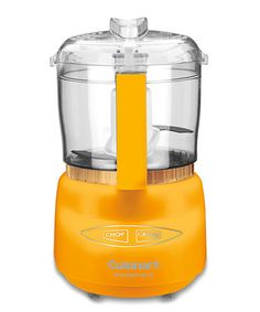 Take a look at this Golden Yellow Mini-Prep Plus Food Processor by Cuisinart on #zulily today!
