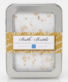 Take a look at this Oatmeal Milk & Honey Bath Brittle by Beau Bain on #zulily today! Body Wash, Bath Time, Oatmeal, Bath And Body, Bathroom Stuff, Three Sisters, Dairy, Bath Products, Nirvana