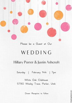 72 Beautiful Wedding Invite Printables To Download For Free!