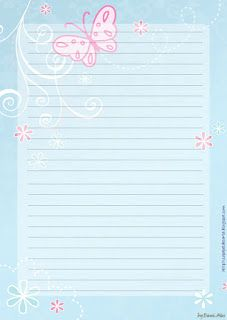 Letter and Envelope papers - Paper Letter and Envelope - Letter Paper and Envelope printing: Flowers - Floral with envelopes