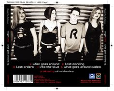 Sugarcoma - What Goes Around CD inlay. Client: Music For Nations. Circa 2001. © Sean Mowle.