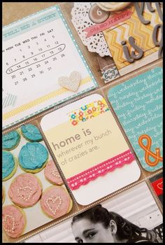 Pinterest fun...now a project life filler card :)