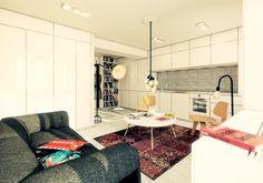 30 m2 studio interior design