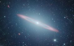NASA's Spitzer Space Telescope is shown in this handout photo released by NASA April 24, 2012. The telescope has revealed that the Sombrero galaxy, named after its appearance in visible light to a wide-brimmed hat is in fact two galaxies in one according to NASA