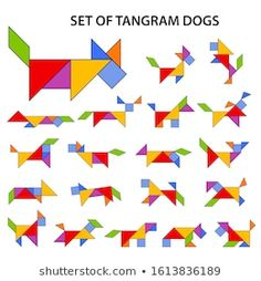 Elementary Spanish, Elementary Schools, Tangram Puzzles, Grande Section, Love Games, Kirigami, Pattern Blocks, Art School, Montessori