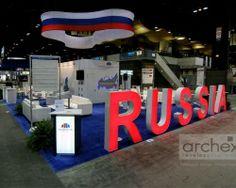 Archex Pavillion Exhibit Russia Chicago www.archex.ca