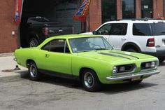 1967 Plymouth Barracuda Two Door Coupe