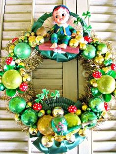 St. Patrick's Day wreath by Janny Dangerous