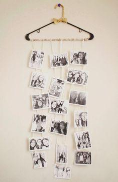 DIY Hanger Photo Collage
