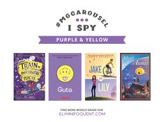 A search and find game for Middle Grade fiction! #MGLit #IReadMG #amreading #middlegrade #kidlit #MGCarousel #ISpy