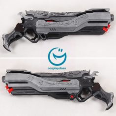 Overwatch OW Reaper Gabriel Reyes Mariachi Two Guns Cosplay Weapon Prop  #cosplayweapon #overwatch #reaper #prop