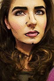 Lichtenstein makeup