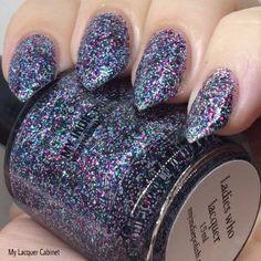 Ladies who lacquer - micro glitter - vegan nail polish 7ml