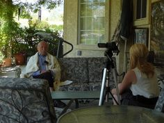 """Joseph Kempler is interviewed by Rebecca Kitchens from KOLO News 8 in response to the question """"how do you feel when people say the Holocaust never happened?"""" THE ALTERED I:MEMOIR OF JOSEPH KEMPLER HOLOCAUST SURVIVOR was released 11/13/13"""