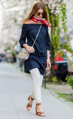 How to Layer a Dress Over Pants | InStyle.com                                                                                                                                                                                 Más