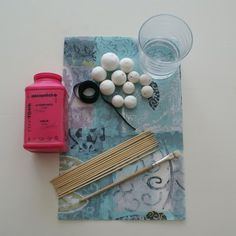 ArtMind: How to make a paper bead necklace?