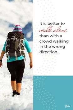 It is better to walk alone than with a crowd walking in the wrong direction. Best Entrepreneurs, Walking Alone, Business Tips, Make It Simple, Competitor Analysis, Good Things, Entrepreneurship, Mindset, Crowd