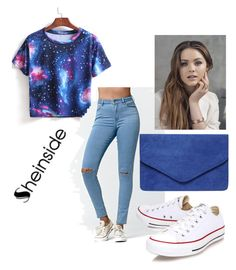 """Untitled #58"" by merisa96 ❤ liked on Polyvore featuring Bullhead Denim Co., Converse and Dorothy Perkins"