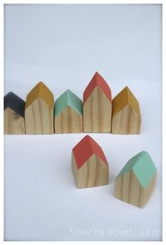 DIY decorative little houses