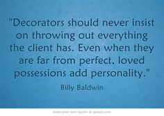 """""""Decorators should never insist on throwing out everything the..."""