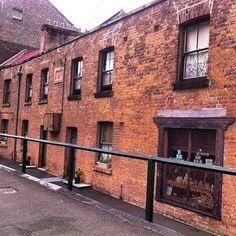 Colonial terrace Susannah Place, The Rocks, Sydney