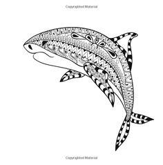 j benson coloring pages | mandala requin - Recherche Google | Art Thérapie - Cétacé ...