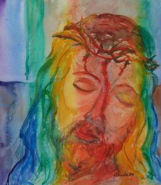 rainbow pictures jesus | Rainbow Jesus
