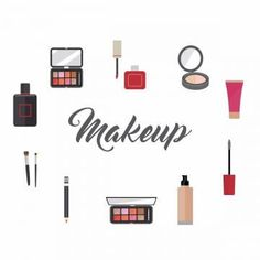 Makeup Artist Tools And Beauty Products, Makeup, Collection, Kit PNG y Vector para Descargar Gratis Make Up Tools, Tools Tools, 00's Makeup, Makeup Brushes, Beauty Makeup, Makeup Shop, Unique Makeup, Creative Makeup, Makeup Clipart