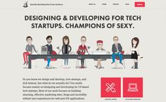 The best of web design and web design inspiration - updated regularly with new designs and web designers, and featuring the best Wordpress Themes. Flat Web Design, Creative Web Design, One Page Website, Ui Design Inspiration, Design Ideas, User Interface Design, Best Wordpress Themes, Best Web, Design Development