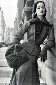 Jacques Fath for Vogue France 1952.
