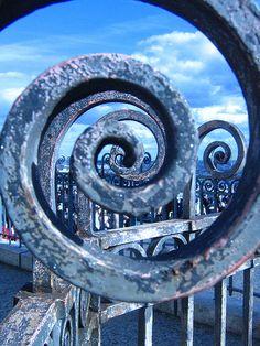 spiraling!