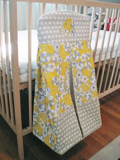 for future baby or shower gifts Shannon's Elephant Diaper Stacker Quilt Baby, Diy Baby Gifts, Baby Crafts, Baby Sewing Projects, Sewing For Kids, Nappy Stacker Pattern, Diaper Holder, Diaper Caddy, Diaper Bags