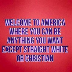 Welcome to America....