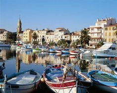 Sanary sur Mer, en Provence, France.  Where I was born