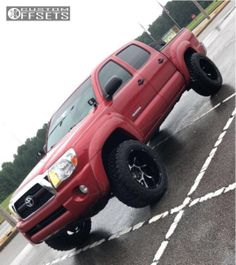 Largest Online Truck Fitment Gallery Browse the largest online truck fitment gallery, curated by enthusiasts, for enthusiasts. 2011 Toyota Tacoma, Aftermarket Wheels, Custom Trucks, Performance Parts, Cool Trucks, Mud, Gallery, Roof Rack