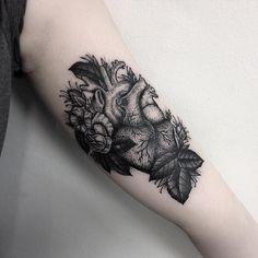 Instagram Heart, Cardiff, Blackwork, Tattoos, Flowers, Tatuajes, Tattoo, Royal Icing Flowers, Flower