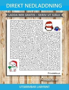 Maze with a christmas theme (free printable) Christmas Maze, Christmas Themes, Printable Mazes, Free Printables, Themes Free, Free Christmas Printables, Educational Activities, Reindeer, Finding Yourself
