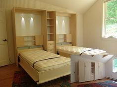 free plans for queen size murphy bed - Google Search