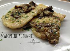 Scaloppine ai funghi porcini   dal mio blog