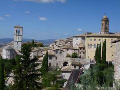Assisi, Umbria, Italia