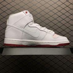 timeless design 53d4e f9af8 Nike SB Dunk High Kevin Bradley University Red White AH9613-116-3 Bradley  University
